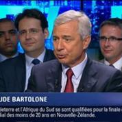 BFM Politique: L'After RMC: Claude Bartolone répond aux questions d'Annabel Roger 6/6