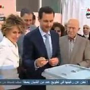 Présidentielle syrienne : Bachar el-Assad vote dans le centre de Damas