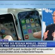 Culture Geek: Classement des réseaux mobiles: Orange en tête, Free à la traine –