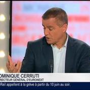 Dominique Cerutti, directeur général d'Euronext, dans Le Grand Journal 2/4
