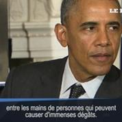 Le contrôle des armes, la «plus grande frustration» d'Obama