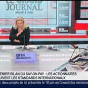 Agnès Touraine, présidente de l'Institut Français des Administrateurs, dans Le Grand Journal 4/4