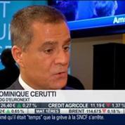 Euronext: Entrée en bourse au prix de 20 euros par action: Dominique Cerutti, dans Intégrale Bourse –