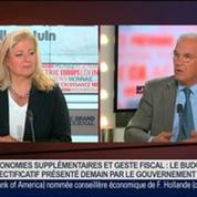 Gilles Carrez, président UMP de la Commission des finances à l'Assemblée nationale, dans Le Grand Journal 1/4