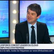Salesforce.com est un des pionniers du cloud computing, Alexandre Dayon, dans GMB