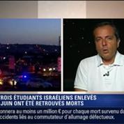 Le Soir BFM: Cisjordanie: les trois étudiants Israéliens enlevés le 12 juin ont été retrouvés morts 2/10