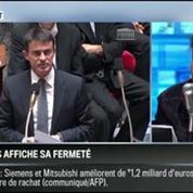 RMC Politique: Manuel Valls affiche sa fermeté