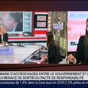 Karine Berger, députée PS des Hautes-Alpes, dans Le Grand Journal 3/4