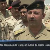 Irak : des centaines de volontaires rejoignent les rangs de l'armée