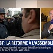 Le Soir BFM: Grève à la SNCF: La réforme ferroviaire divise-t-elle la droite ? 2/2