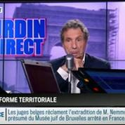 RMC Politique : Réforme territoriale : François Hollande ne parlera plus de la suppression des conseils généraux –