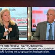 Gilles Carrez, président UMP de la Commission des finances à l'Assemblée nationale, dans Le Grand Journal 2/4