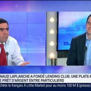 Les prêts entre particuliers sont en train de révolutionner le monde bancaire, Renaud Laplanche, dans GMB