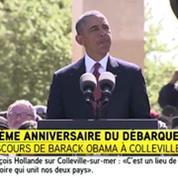 Débarquement : Barack Obama remercie les Français