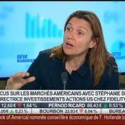 Focus sur les marchés américains: Les chiffres macroéconomiques sont encourageants: Stéphanie Sutton, dans Intégrale Bourse –