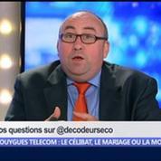 Bouygues Telecom: le célibat, le mariage ou la mort ?, dans Les Décodeurs de l'éco 3/5