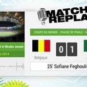 Belgique - Algérie : Le Match Replay avec le son RMC Sport !