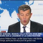 L'Édito éco de Nicolas Doze: Manuel Valls répare deux ans d'erreurs sur le logement et la construction –