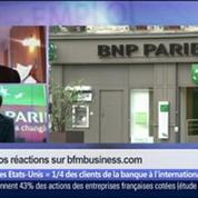 BNP Paribas: la France et les États-Unis vont-ils sortir les armes 3 jours avant les cérémonies du Débarquementen Normandie ?, dans Les Décodeurs de l'éco 5/5