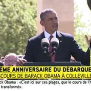 Obama : «Omaha, la Normandie, ce sont les plages de la démocratie»