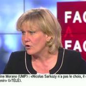 Nadine Morano : « Nicolas Sarkozy doit revenir mettre de l'ordre »