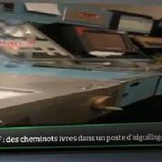 Top Média : des cheminots ivres dans un poste d'aiguillage de la SNCF