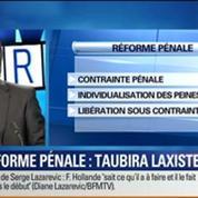BFM Story: La droite qualifie la réforme pénale de Taubira de laxiste –
