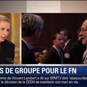 Le Soir BFM: Marine Le Pen ne parvient pas à constituer un groupe au Parlement européen 1/5