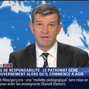 L'Édito éco de Nicolas Doze: Pacte de responsabilité: plusieurs organisations patronales demandent au gouvernement de passer aux actes –