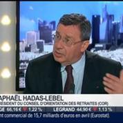 Raphael Hadas-Lebel, Conseil d'Orientation des Retraites, dans l'invité de BFM Business –