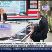 Olivier Zarrouati, président du directoire de Zodiac Aerospace, dans Le Grand Journal – 4/4