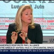 Stéphane Israël, président directeur général d'Arianespace, dans Le Grand Journal 3/4