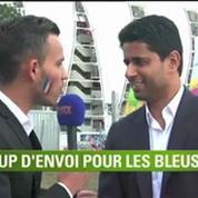 Football / Nasser Al-Khelaïfi soutient les Bleus