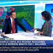 Politique Première: La nouvelle carte des régions de France –
