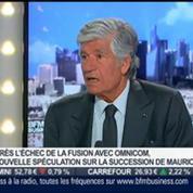 Maurice Lévy, Publicis Groupe, dans l'invité de BFM Business –