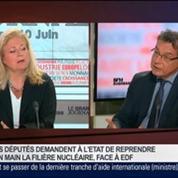 Pierre-Franck Chevet, président de l'Autorité de sûreté nucléaire, dans Le Grand Journal 4/4