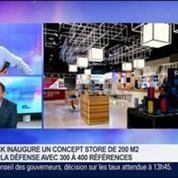 Le Blackphone, un smartphone ultra sécurisé, sera commercialisé dans les boutiques Lick dès cet été, Stéphane Bohbot, dans GMB