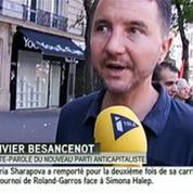 Un an après la mort de Clément Méric, Besancenot rend hommage au militant antifasciste
