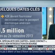 ASK, spécialiste des cartes sans-contact lance son IPO: Julien Zuccarelli, dans Intégrale Bourse –