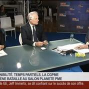 Jean-François Roubaud, président de la CGPME, dans Le Grand Journal – 3/4