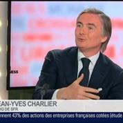Jean-Yves Charlier, président directeur général de SFR, dans Le Grand Journal 1/4