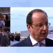«Le 6 juin 2014 a été utile», dit Hollande