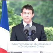 Oradour : l'allusion de Valls à Le Pen