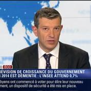 L'Édito éco de Nicolas Doze: La prévision de croissance du gouvernement pour 2014 est démentie par l'Insee –