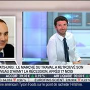 Olivier Delamarche: la décision de la BCE n'est qu'une vaste fumisterie, avec une belle opération de communication, dans Intégrale Placements –
