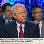 BFM Politique: L'interview de Claude Bartolone par Apolline de Malherbe 1/5