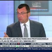 Immobilier: le gouvernement annonce un nouveau plan de relance: Olivier Marin, dans Intégrale Placements –