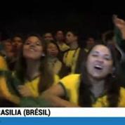 Football / Le Brésil à Brasilia dans l'hystérie