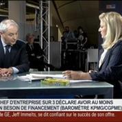 François Pérol, président du directoire de BPCE, dans Le Grand Journal 1/4