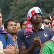 Football / Equipe de France / Les supporters tricolores de la fan zone à Sao Paulo